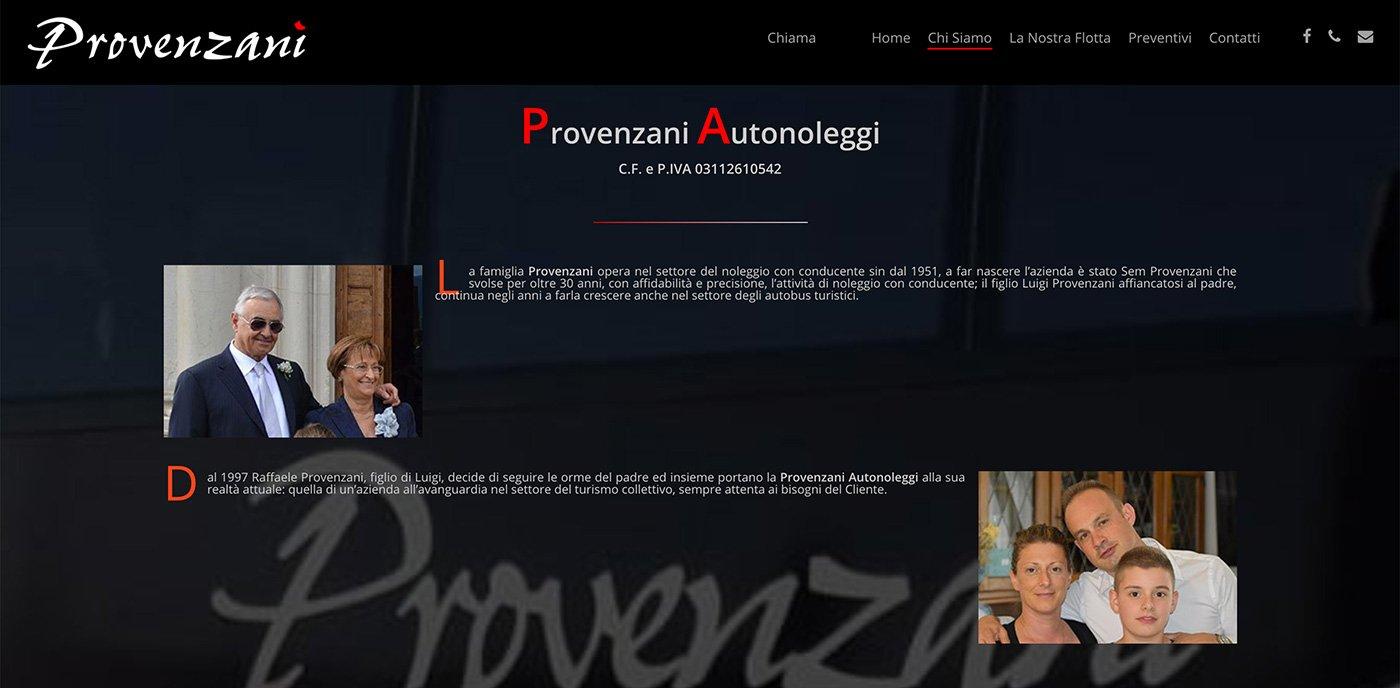 UpYourBrand - Restyling Sito Web - Provenzani - Chi Siamo