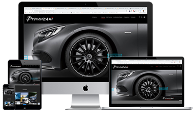 UpYourBrand - Restyling Sito Web - Provenzani - Responsive - Multi devices